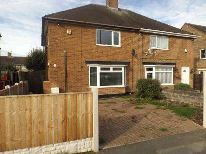 3 Bedrooms Semi Detached House for sale in Farnborough Road, Clifton, Nottingham, Nottinghamshire