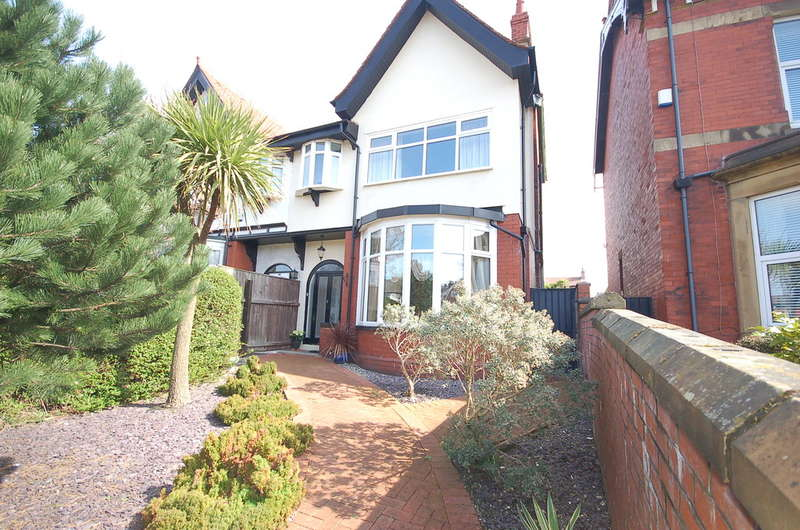 4 Bedrooms Semi Detached House for sale in Whitegate Drive, Blackpool