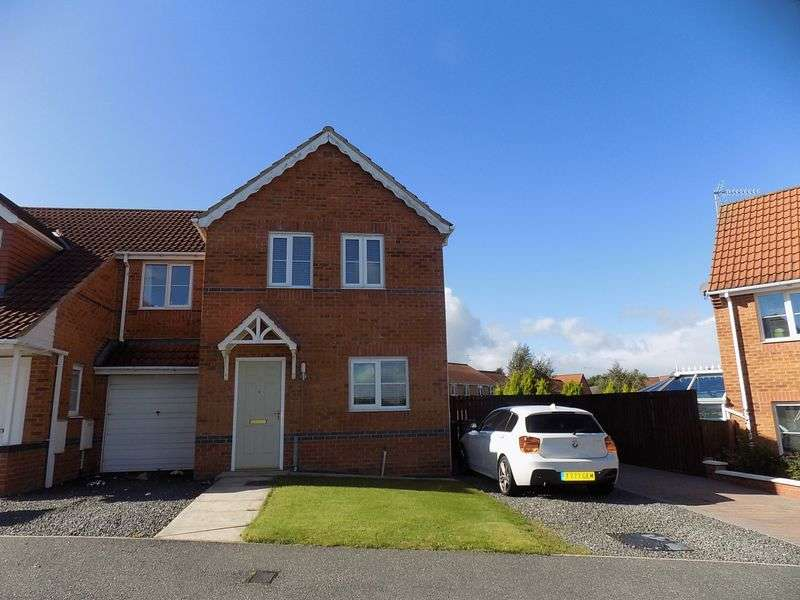 3 Bedrooms Semi Detached House for sale in Primrose Drive, Shildon