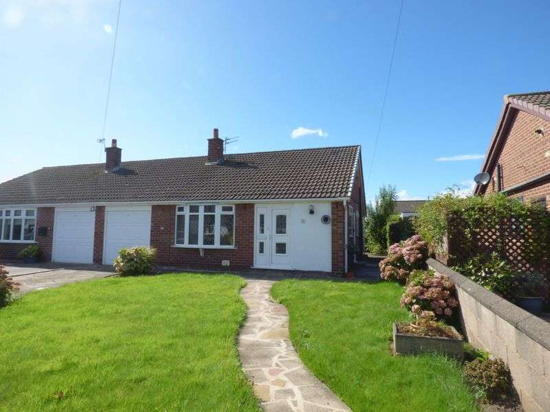 3 Bedrooms Semi Detached Bungalow for sale in Sidmouth Close, Penketh