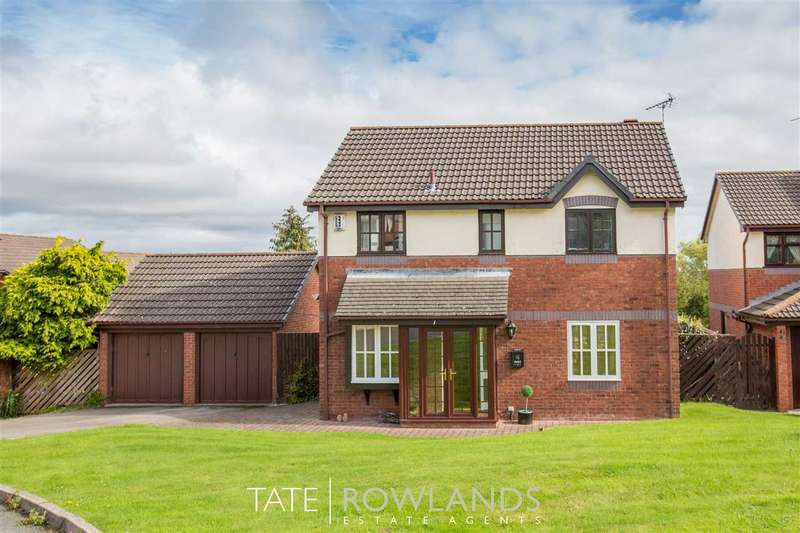 4 Bedrooms Detached House for sale in Birch Ridge, Flint
