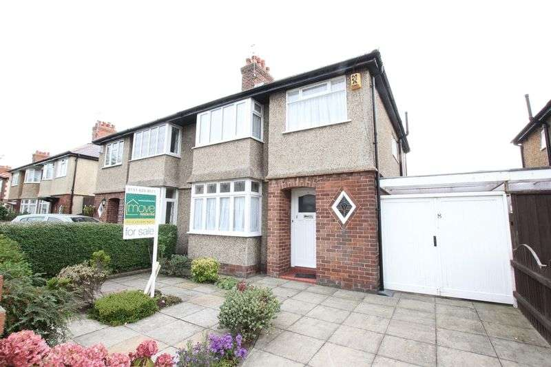 3 Bedrooms Semi Detached House for sale in Ashton Drive, West Kirby, Wirral