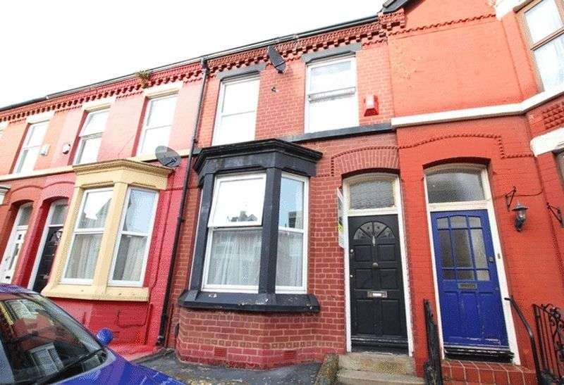 3 Bedrooms Terraced House for sale in Bryanston Road, Aigburth, Liverpool, L17