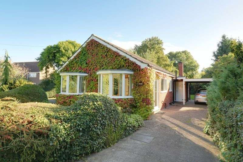 3 Bedrooms Detached Bungalow for sale in Halls Lane, North Kelsey