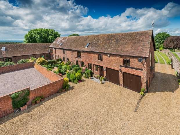 5 Bedrooms Semi Detached House for sale in New Lodge Barn, Lodge Road, Lilleshall, Shropshire