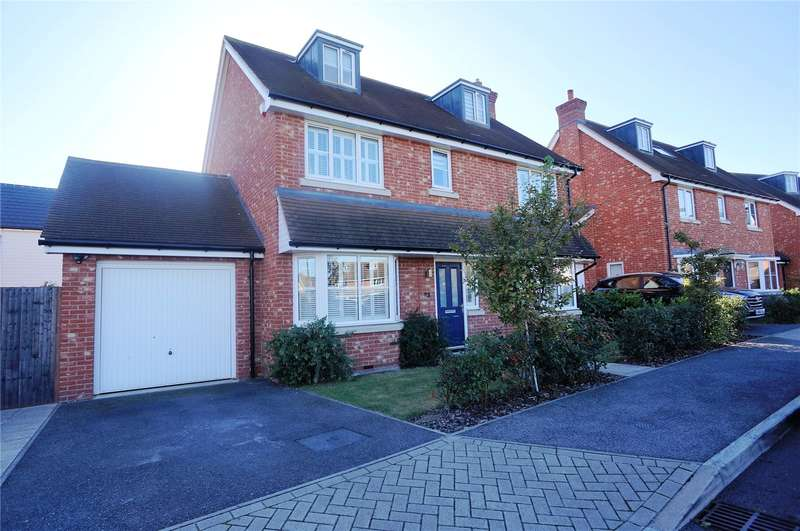 4 Bedrooms Detached House for sale in Utah Rise, Wainscott, Rochester, Kent, ME3
