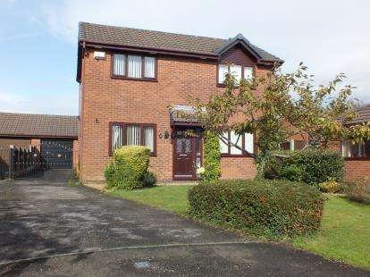 3 Bedrooms Detached House for sale in Ashfields, Leyland, Lancashire, .