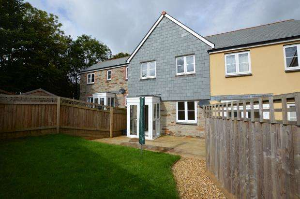 3 Bedrooms Terraced House for sale in Austin Close, Liskeard, Cornwall
