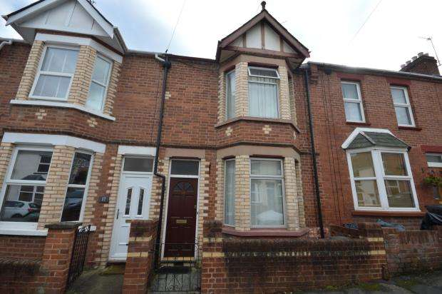 2 Bedrooms Terraced House for sale in Coleridge Road, Exeter, Devon