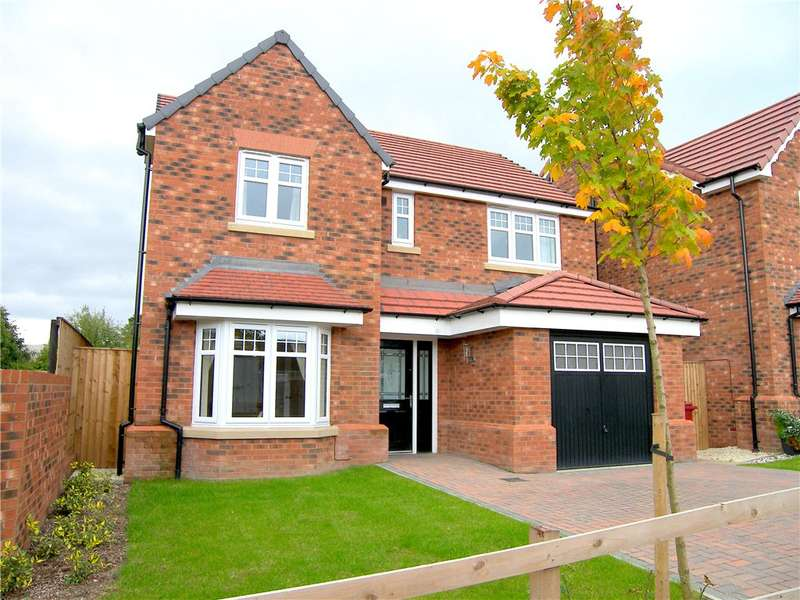 4 Bedrooms Detached House for sale in Knightingale Grove, South Normanton, Derbyshire, DE55