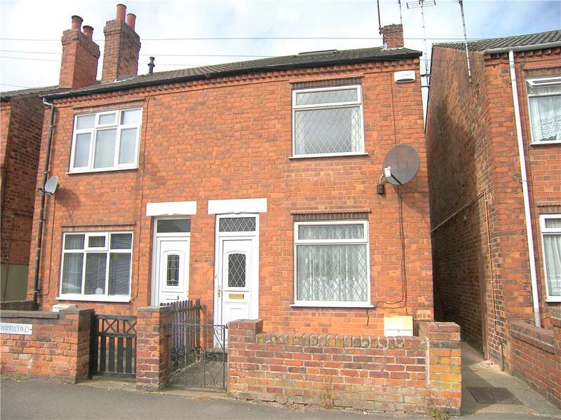 2 Bedrooms Semi Detached House for sale in Quarry Road, Somercotes, Alfreton, Derbyshire, DE55
