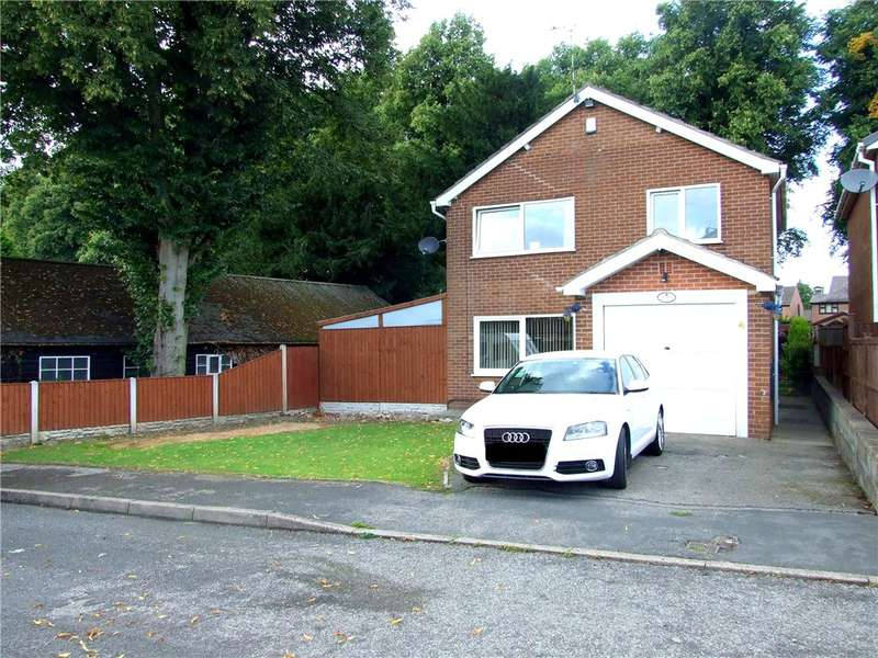 3 Bedrooms Detached House for sale in Mundy's Drive, Heanor, Derbyshire, DE75