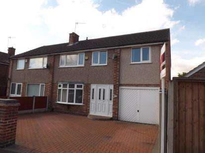 4 Bedrooms Semi Detached House for sale in Slaidburn Avenue, Silverdale, Nottingham