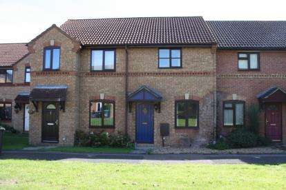 2 Bedrooms Terraced House for sale in Grovebury Court, Wootton, Bedford, Bedfordshire