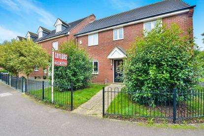 4 Bedrooms Detached House for sale in Foxholes Close, Deanshanger, Milton Keynes, Northamptonshire