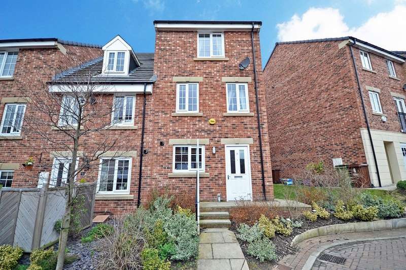 4 Bedrooms Town House for sale in Maltby Avenue, Woolley Grange