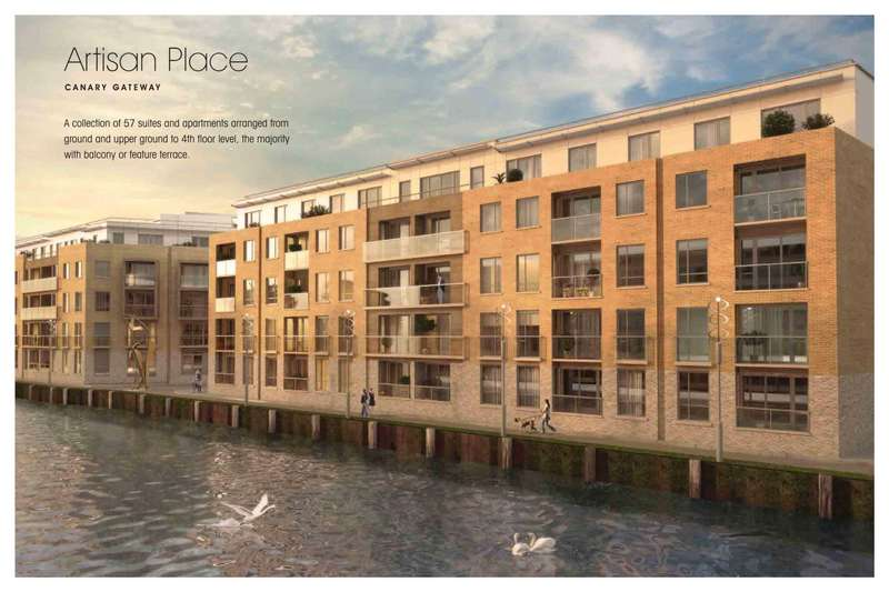 2 Bedrooms Apartment Flat for sale in Canary Gateway, Limehouse E14