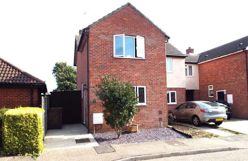 2 Bedrooms Semi Detached House for sale in Woodfield Way, Hatfield Peverel