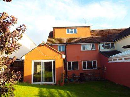 4 Bedrooms Semi Detached House for sale in Wells, Somerset