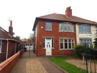 3 Bedrooms Semi Detached House for sale in St. Leonards Road East, Lytham St. Annes, Lancashire, FY8