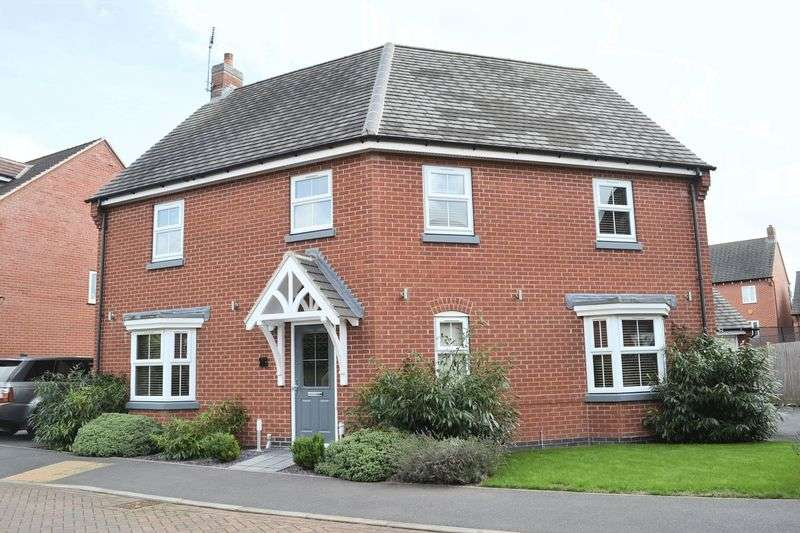 4 Bedrooms Detached House for sale in Anglia Drive, Swadlincote