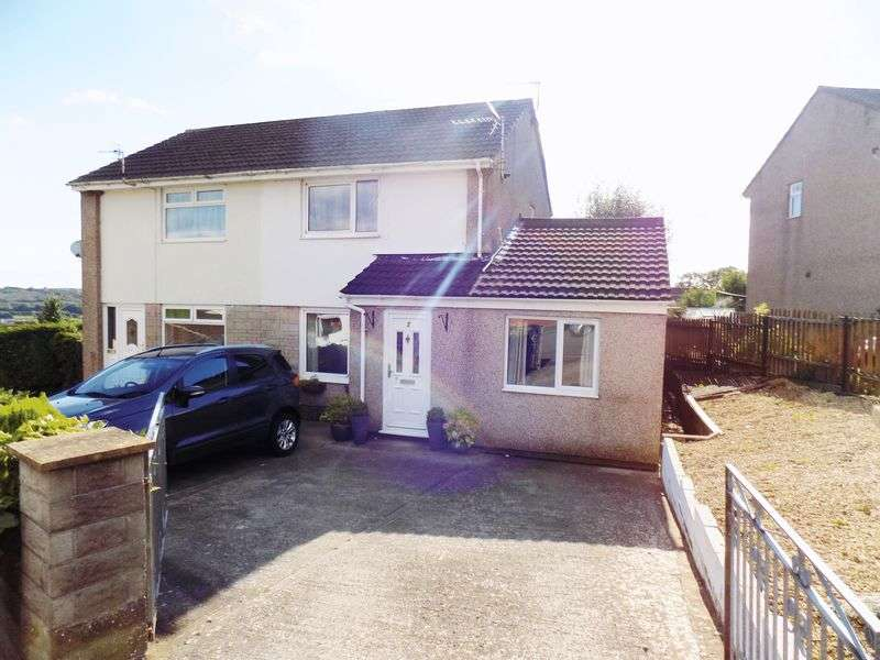 2 Bedrooms Semi Detached House for sale in St Marks Close, Pontyclun