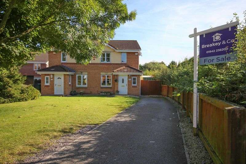 3 Bedrooms Semi Detached House for sale in Ridgewood Close, Hindley Green, Wigan