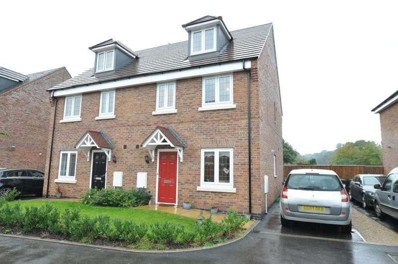 4 Bedrooms Semi Detached House for sale in CLAYTON GARDENS, HATTON