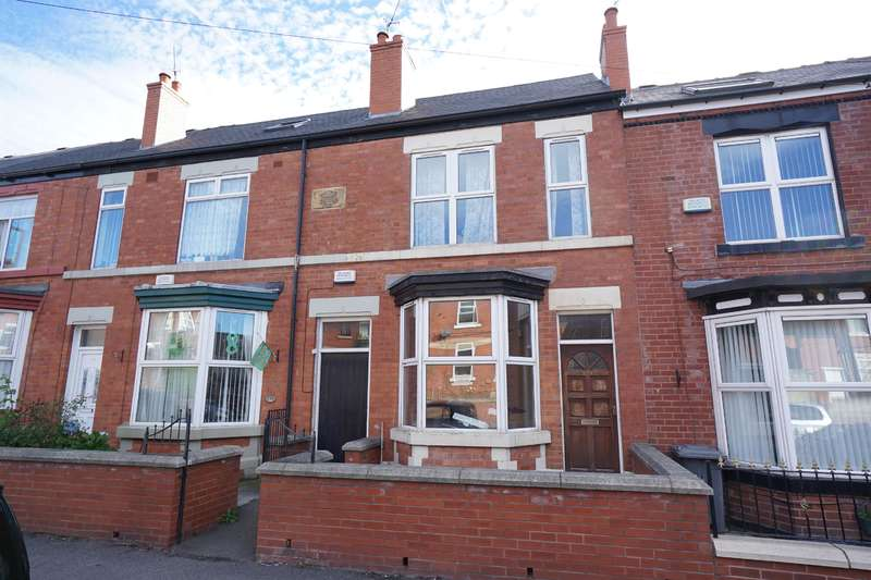 2 Bedrooms Terraced House for sale in Ellesmere Road North, Pitsmoor, Sheffield, S4 7DQ