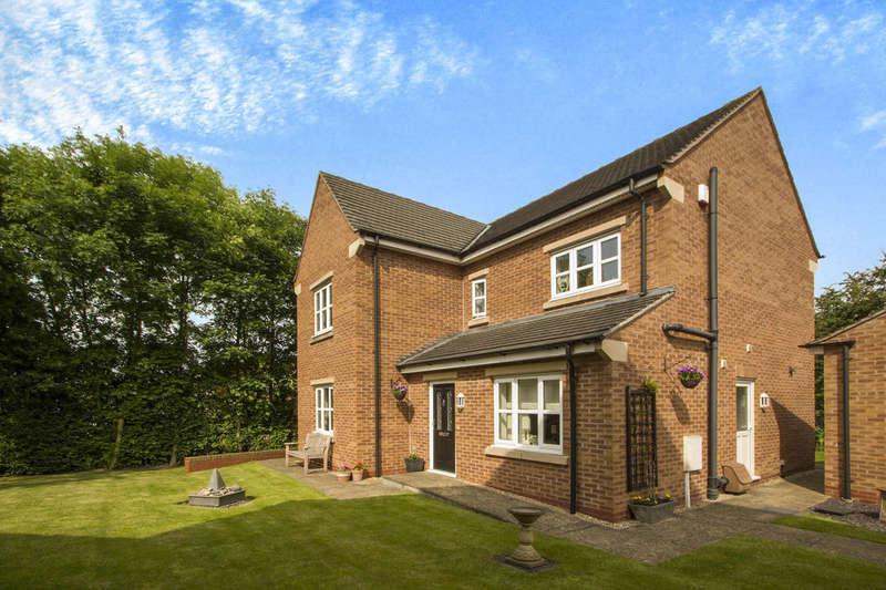 4 Bedrooms Detached House for sale in Pavilion Court, West Hallam, Ilkeston, DE7