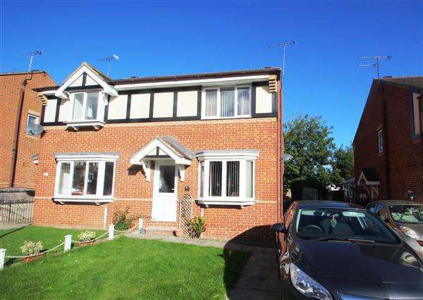 3 Bedrooms Semi Detached House for sale in The Haverlands, Hemsworth