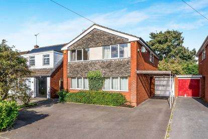 4 Bedrooms Detached House for sale in Shannon Road, Burton Manor, Stafford, Staffordshire