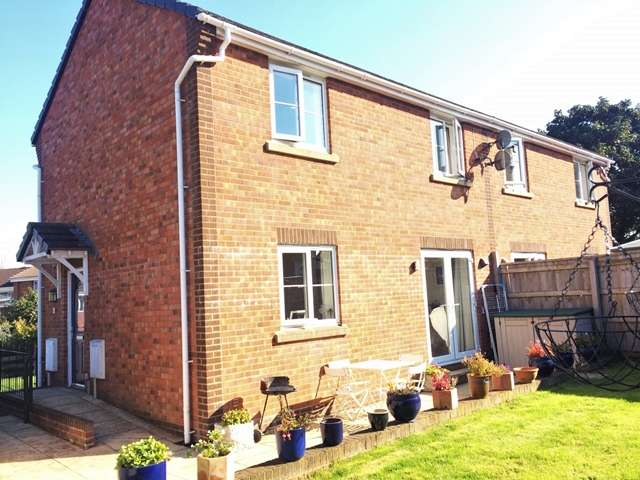 3 Bedrooms Semi Detached House for sale in Northcote Lane, Honiton