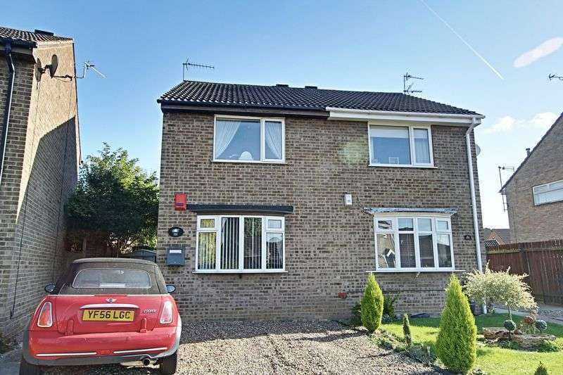 2 Bedrooms Semi Detached House for sale in Brevere Road, Hedon