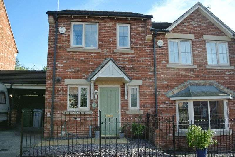 2 Bedrooms Semi Detached House for sale in Guylers Hill Drive, Clipstone