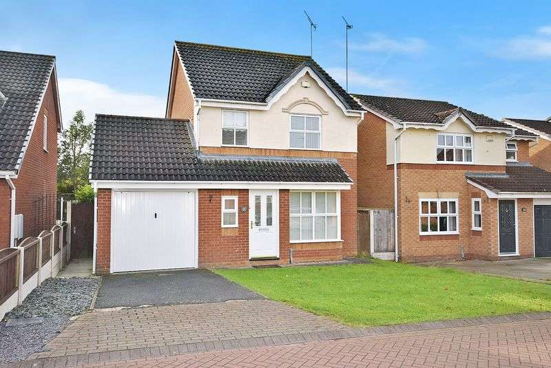 3 Bedrooms Detached House for sale in Cornforth Way, Widnes