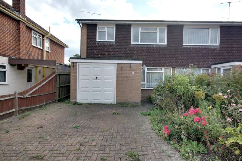 3 Bedrooms Semi Detached House for sale in Liberty Lane, Addlestone, Surrey, KT15