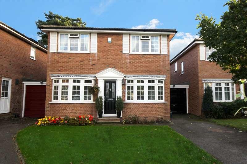 4 Bedrooms Link Detached House for sale in Kashmir Close, New Haw, Surrey, KT15