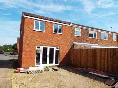 3 Bedrooms End Of Terrace House for sale in Nevill Close, Hanslope, Milton Keynes, Buckinghamshire