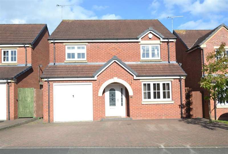 4 Bedrooms Detached House for sale in Penzance Way, Saxonfields, Stafford