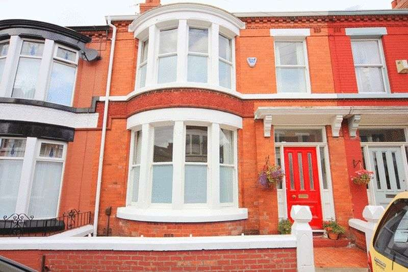4 Bedrooms Terraced House for sale in Wyndcote Road, Mossley Hill, Liverpool, L18