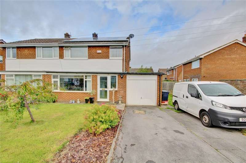 3 Bedrooms Semi Detached House for sale in Thorndale Road, Belmont, Durham, DH1