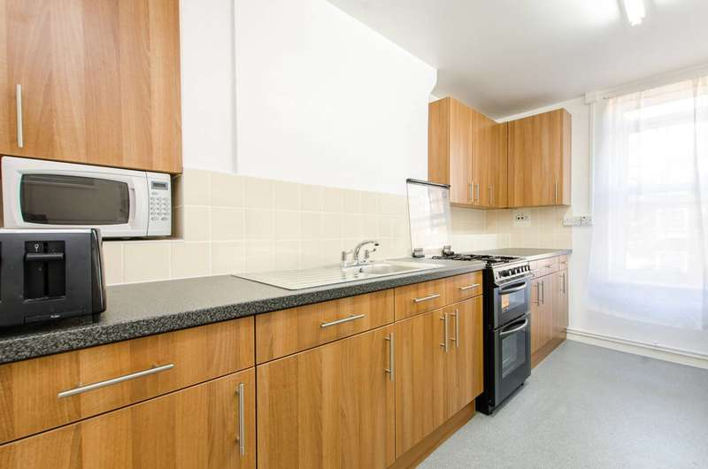 2 Bedrooms Flat for sale in Gosling Way, Brixton, SW9