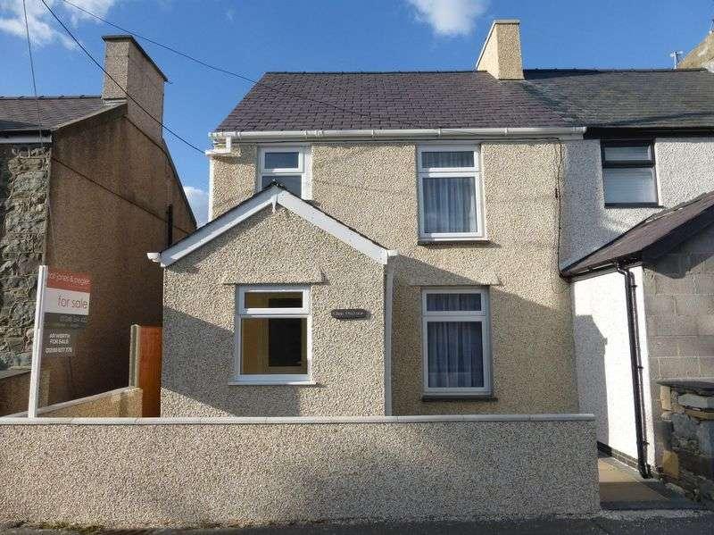 3 Bedrooms Semi Detached House for sale in Llanrug