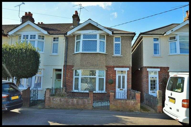 3 Bedrooms Terraced House for sale in Downs Park Crescent, Eling