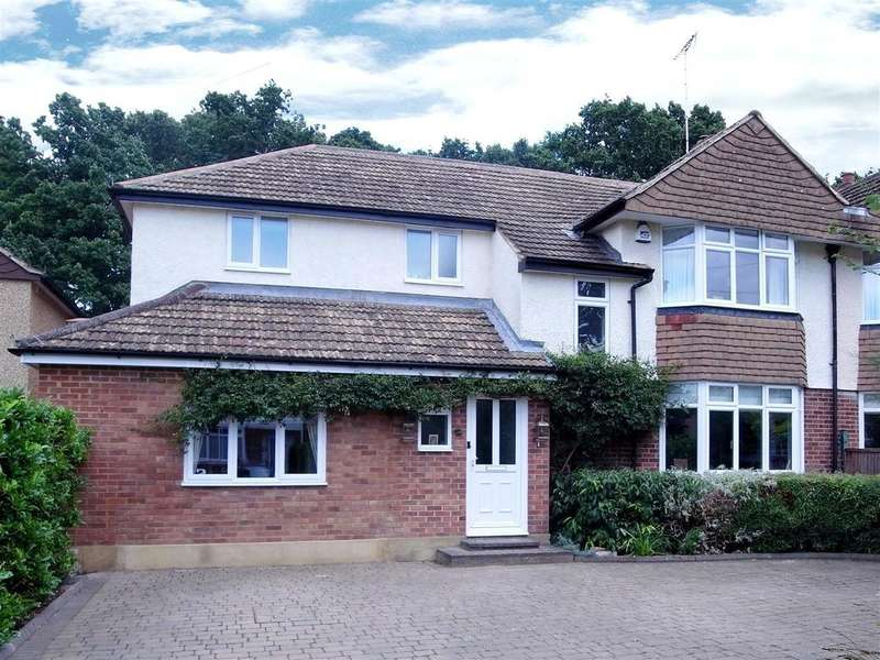 4 Bedrooms Semi Detached House for sale in Lower Wood Road, Claygate, Esher