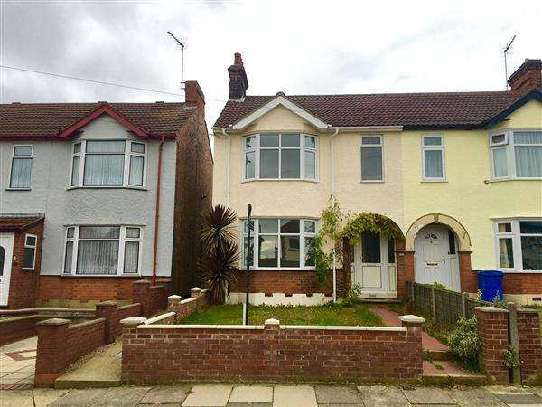 3 Bedrooms Semi Detached House for sale in Westholme Road, Ipswich