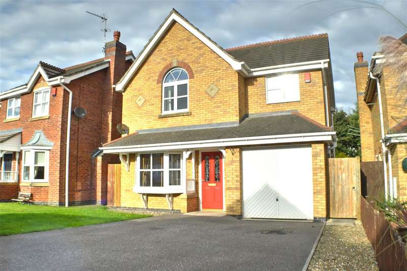 4 Bedrooms Detached House for sale in Peartree Close, Sleaford