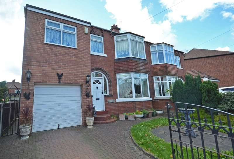 4 Bedrooms Semi Detached House for sale in Beechwood Grove, Horbury