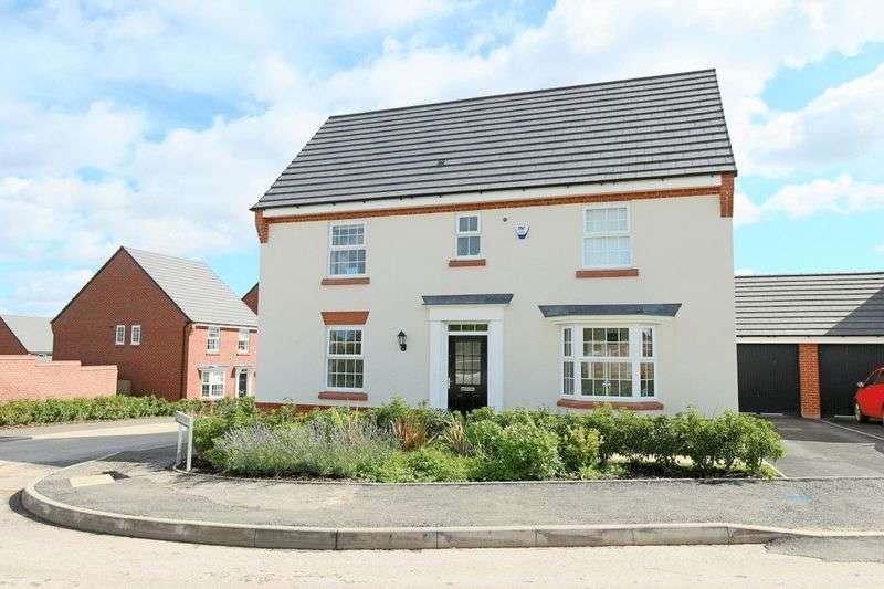 4 Bedrooms Detached House for sale in Ridding Drive, Crewe